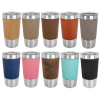 Click this Image to visit the Insulated Pint Glasses - Leatherette category.